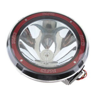 9 100w 12v Xenon Hid Work Light Spot Beam Atv Suv Truck Cross Country Red