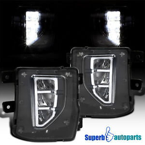 For 2016 2018 Silverado 1500 Led Front Bumper Fog Lights Driving Lamps Switch
