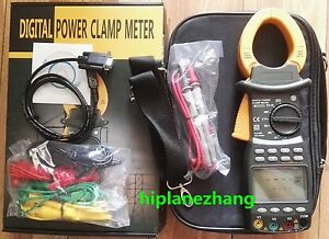 Three Phase True Rms Digital Power Clamp Meter Power Factor Tester Rs232 2203