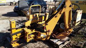 Used Very Little Bradco Skid Steer Backhoe Attachment Side Shifter Model 88m2gf