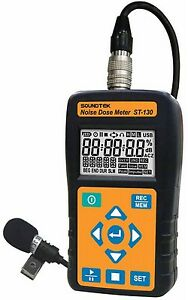 Sound Level Meter Noise Dose Meter Osha Msha Dod Acgih Iso85 Iso90 Usb Data Log