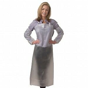 Cordova Ra08c48 8mm Clear Vinyl Apron 36 X 48 100 Each