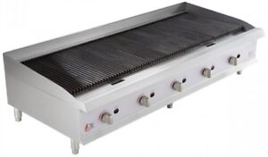 60 Inch Natural Gas Radiant Charbroiler 200 000 Btu Commercial Cooking Equipment