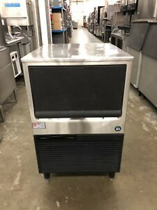 Hoshizaki Km 151bah Air Cooled 146 Lb Undercounter Ice Maker Refurbished