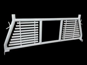 H0003w Trail Fx Headache Rack W Window White Silverado Ram F150 Tundra