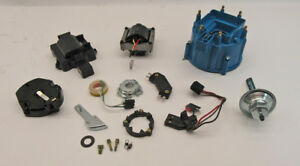 Gm Hei Distributor Complete Tune Up Kit Vacuum Advance 6 Cylinder New