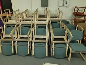 Lot Of 25 Used Sauder Plywood 2 3 Postion Chairs