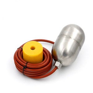 1pc Stainless Steel Float Switch 304 High Temperature Water Level Controller 2m