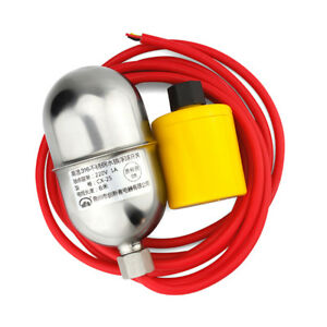 1pc Stainless Steel Float Switch 304 High Temperature Water Level Controller 5m