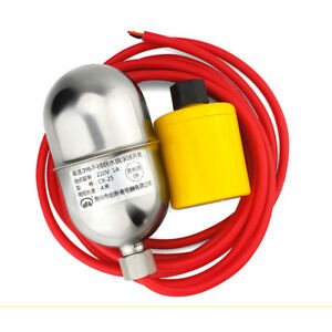 1pc Stainless Steel Float Switch 304 High Temperature Water Level Controller 6m