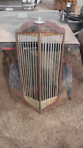 Larg1930 s Packard Grill With Winterfront Slats Hot Rat Street Rod Ford 1932