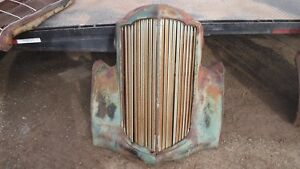 1930 s Packard Grill With Winterfront Slats Hot Rat Street Rod Ford 1932
