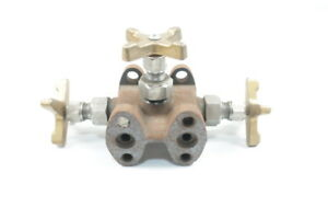 2 way Steel Valve Assembly 1 4in