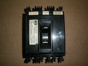 Federal Pacific Ne233050 Molded Case Circuit Breaker 50a 240v 3 P 2 Available