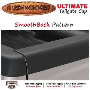 58506 Bushwacker Ultimate Black Bed Tailgate Cap Dodge Ram 2002 2008
