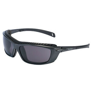 Baxter Safety Glass Withfoam Smoke Lens 1 Each