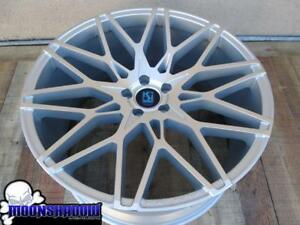22 Koko Kuture Funen Silver Machined Wheels Rims 22x9 22x10 5 5x112 Mercedes