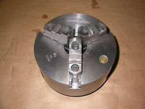Bison 8 Three Jaw Lathe Chuck W Reversible Jaw D1 5 Mount 3245 8 5