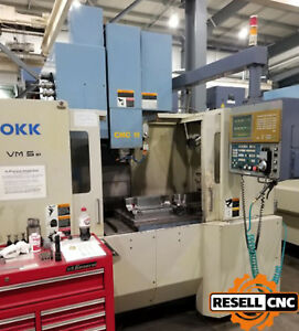 2000 Okk Vm5 Cnc Vertical Machining Center