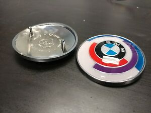 Bmw Vintage Motorsport Roundel 84mm new For Trunk boot Of E30 E28 E24 Z3