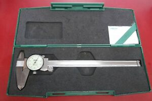 Insize Dial Caliper 0 8 With Case And Paperwork