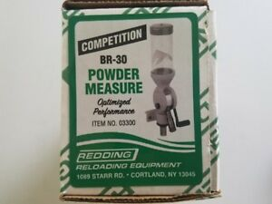03300 REDDING COMPETITION MODEL BR-30 POWDER MEASURE - FREE SHIPPING - NEW!