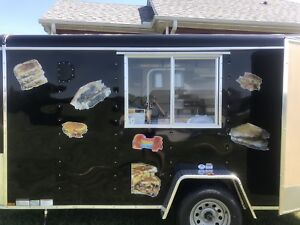 Used 2018 Food Trailer 7 X 12 With Equip Ready For Pick up In Ky