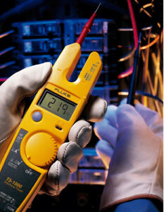Fluke T5 600 Clamp Meter Continuity Current Electrical Tester With Current