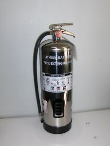 Fire Extinguisher For Lithium ion Electric Vehicle Battery Packs