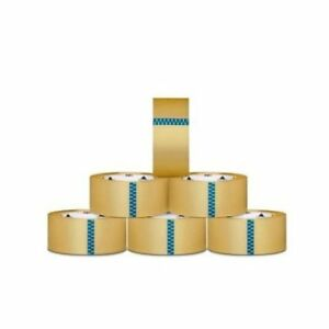 12 Rolls Carton Sealing Clear Packing Shipping Box Tape 1 9 Mil 3 inch X 110