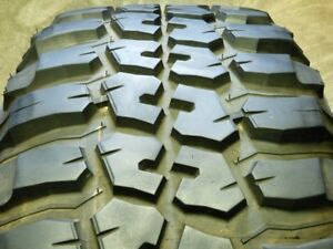 4 Federal Couragia M t 33x12 50r20 114q Load E 10 Ply Used Tire 13 14 32 77367