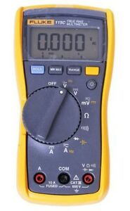 Fluke 115c Multimeter 1000uf Backlight Digital Multimeter Meter Field Multimete