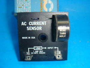 New Ssac Ac Current Sensor Cs120a2 120vac 1 Amp Code 4991x New In Box