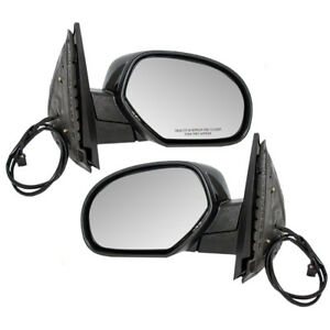 Cadillac Suv Chevy Gmc Pickup Truck Set Side View Power Mirrors Heated W Covers