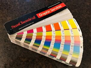 Pantone Colors Sunchemical Formula Guide Coated And Uncoated Printer Edition