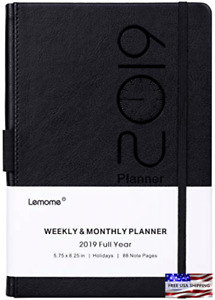 Academic Year Planner 2019 With Pen Holder Daily Weekly Monthly Organizers Women