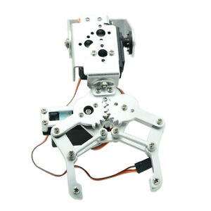 Metal 2 Dof Robot Mechanical Arm Claw Gripper Kit Mg 996r Servo For Arduino
