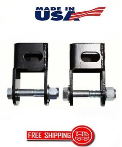 1973 2016 Ford F150 F250 F350 2 4 Lift Kit Front Rear Shock Extenders 5341 E