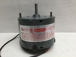 Dayton 3m554a Electric Motor 1550 Rpm 115v Single Phase 1 4 Shaft