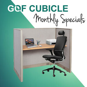 january Special Gof One Person Open Cubicle Office Workstation Partition
