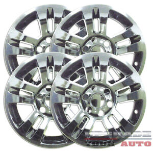 On Sale 18 Chrome Wheel Skin Covers For 2014 2015 Chevy Silverado set Of 4