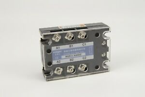 Ac Three 3 Phase Solid State Relay Ssr 60a 70 280vac 380v Ac Us Stock Ship