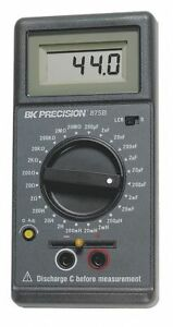 B k Precision Lcr Meter Includes Test Leads Test Clips Battery Spare Fuse