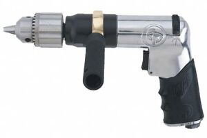 Chicago Pneumatic 0 4 Hp Industrial Duty Keyed Air Drill Pistol Style 1 2