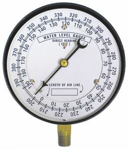 Duro 4 1 2 Test Well Water Level Gauge 0 To 390 Ft H2o Ca566 1 Each