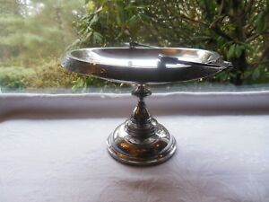Antique Victorian Middletown Quadruple Silverplated Bride S Basket Compote