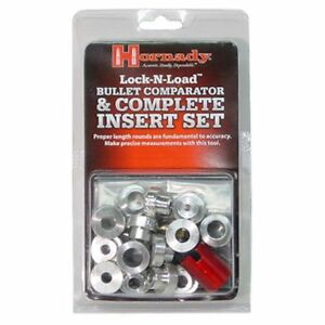 B14 HORNADY LOCK-N-LOAD® BULLET COMPARATOR COMPLETE SET - BRAND NEW - FREE SHIP!