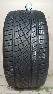 1 Tire 255 35 19 Continental Extreme Contact Dws06 No Repairs