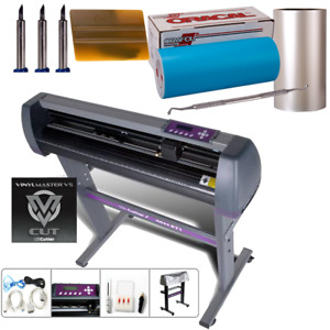 28 Uscutter Mh Vinyl Cutter Sign Paint Mask Stencil Kit W oracal Oramask 813