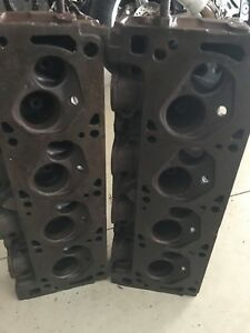 1971 1973 351 Cleveland Closed Chamber Heads Oem
